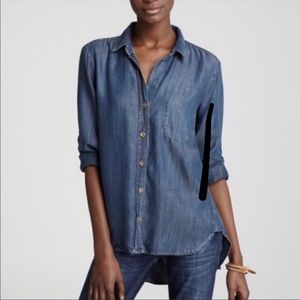 Cloth and Stone Tencel Button Down Top